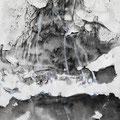 """""""Diatónico 3"""". Tinta sobre papel. 30 x 40 cm. 2013."""