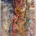 """Natura 1"" T. mixtas sobre cartón, enmarcada en metacrilato. 53 x 79 cm. 2013"