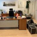 Unser Büro Corona Virus Sperre