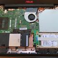 ASUS Laptop SSD Festplatte Aufrüstung