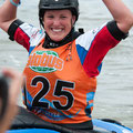 auch 2013 dabei: amtierende Weltmeisterin Clair O'Hara aus GBR