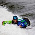 auch 2013 dabei: amtierender Weltmeister James Bebbington aus GBR