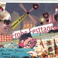 Postkarte Weihnachten, Neujahr 2o1o - Nora Johanna Gromer