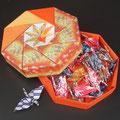 小さな折り鶴を外国のお客様やお子様へプレゼント!