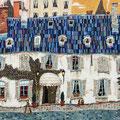 青い屋根のホテル   M8