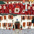赤い屋根に惹かれて   242x652