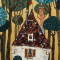 森の中の小さな家   M4