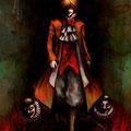 毒麦粉さんのキャラクターの、ラザロという悪霊を二体お借りしました