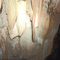 Wall decorations on the first level of the cave.