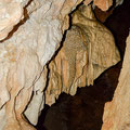 Decorations inside the cave.