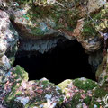 Entrance to the Tripa tou Pelaou cave.