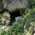 Entrance to the cave of Athinas.