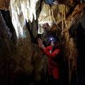 Exploring the cave (April 2019).