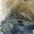 The second Graves cave is much smaller than the first one.