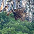 The upper Grava cave.