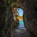 Inside Rovinia cave.