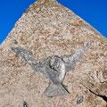 58 ÉCHANGER: Pierre de la colombe noire