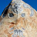 34 LA GRANDE FORCE: Pierre du marteau géant de Galimassu