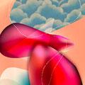 """""""Un Baiser"""" Illustration numérique"""