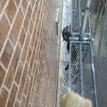 外壁サイディングクリヤー塗装