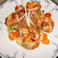 Crevettes EDEN à l'Asie