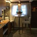 Frühstückstisch in der Küche