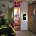 Kühlschrank, Microwelle, Kaffeemaschinen, Spülmaschine, Herd und Backofen
