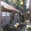 大王寺本堂と庫裏玄関
