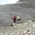 Am Drangajökull-Gletscher