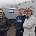 Bert mit Marianne und Wolfgang