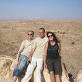 dann hat man uns in die Wüste geschickt