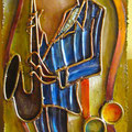 Sax Player  - SOLD