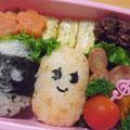2010.11.16 日曜参観の振替休日の学童弁当。