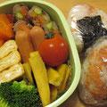 2009.10.13 社会見学のお弁当、奈良公園仕様。(鹿注意)