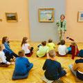 Museumsbesuch // Foto: © Bruno-Hans-Bürgel Grundschule, Schöneiche bei Berlin, 2019
