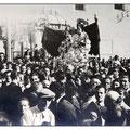 Inizi anni '50 - Processione san Francesco (f.to L.Policastri)
