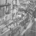 Anni '30 Un'imponente manifestazione lungo Via Roma