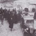 Metà anni '50 un funerale (nei pressi dell'Acquanova) foto di M. Salatino
