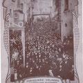 1908 Processione di S. Francesco (4° Centenario)