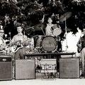 """1968-Il complesso musicale """"The Lovers"""" (da sx Luigi De Bartolo, Rino Rocco,Giovanni Giuliano e Giulio Iudicissa)"""
