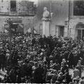 1929 Manifestazione politica in Piazza Guido Compagna