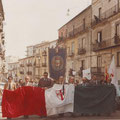 1978 - Manifestazione della Democrazia Cristiana per il rapimento del Presidente Aldo Moro e del barbaro assassinio dei componenti della sua scorta da parte delle Brigate Rosse.