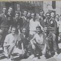 Agosto 1960 - I tedofori coriglianesi. In basso da dx:G.Campolo;D.Le Pera;G.P.Liguori;?In piedi da dx,Benvenuto;M. Romano;Prof.S.Bruno;A.Giuffrida;G.Magliarella;Benvenuto.Altri:mio fratello Giorgio(il 1° a sx), P.Le Pera;V.Aiello(foto G. De Rosis)