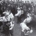 1950-Una quadriglia in P.zza del Popolo