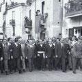 Fanfani ancora su via Roma, in prima fila anche il futuro sindaco di Corigliano, Giuseppe Servidio