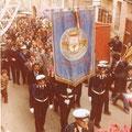 anni '80 via S. Francesco, manifestazione del 4 novembre