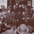 1967-una manifestazione sindacale. Parla il sindaco Domenico Cosentino. Alla sua sx Bonifiglio, Antonio Romio, Antonio Palermo, Serafino Corrado, Pasquale La Grotta.