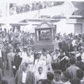2-7-1958 Festeggiamenti per il quinto centenario di S. Francesco(nella nostra città giungono le ossa del taumaturgo)