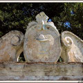 """... IL BORGO - ... L'Arco in Piazza San Francesco - ... Particolare con al centro il """"Cor Bonum""""!!!(F.Saverio Ardito)"""
