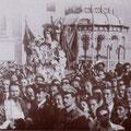 1947 - La processione di S.Francesco in P.zza Vittorio Veneto